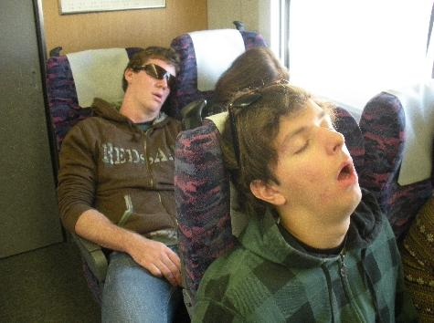 Rob and Steve take the train to SLUMBERLAND!