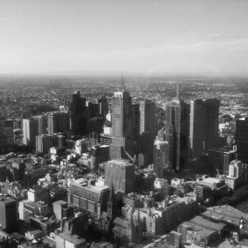 melbourne black and white